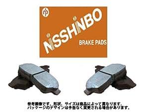 日清紡(NISSHINBO) フロントディスクブレーキパッド ミツビシ 三菱 MITSUBISHI デリカスペースギア 型式 PD6W PF6W 年式 H06.03~H18.12 用 PF-3233