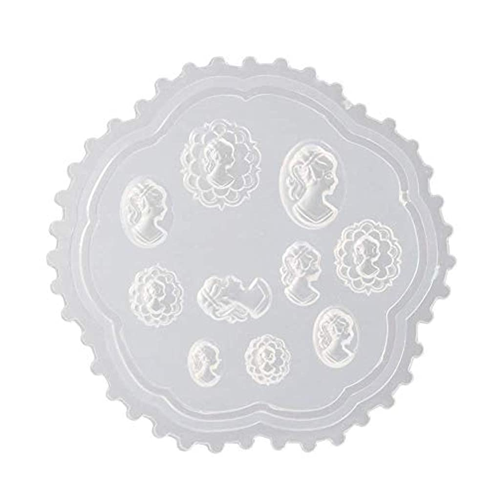 変な真夜中疫病gundoop 3Dシリコンモールド ネイル 葉 花 抜き型 3Dネイル用 レジンモールド UVレジン ネイルパーツ ジェル ネイル セット アクセサリー パーツ 作成 (2)
