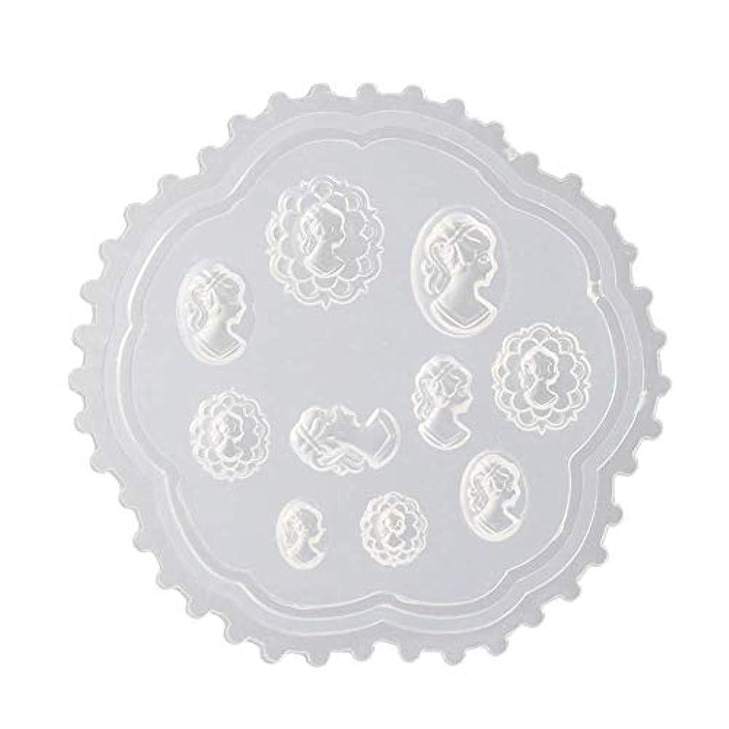 誤解パンサーシャワーgundoop 3Dシリコンモールド ネイル 葉 花 抜き型 3Dネイル用 レジンモールド UVレジン ネイルパーツ ジェル ネイル セット アクセサリー パーツ 作成 (2)