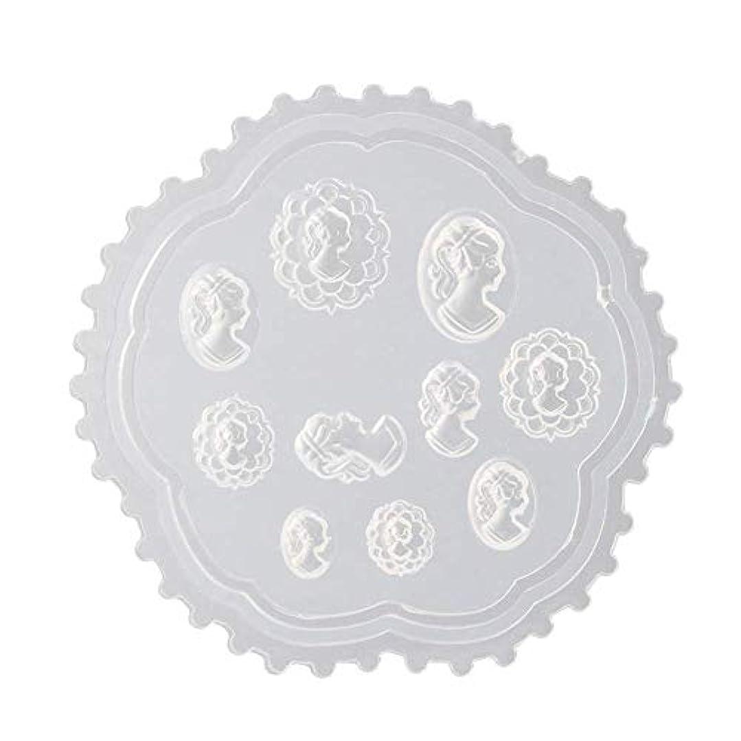 ヤギ二年生ハッチcoraly 3Dシリコンモールド ネイル 葉 花 抜き型 3Dネイル用 レジンモールド UVレジン ネイルパーツ ジェル ネイル セット アクセサリー パーツ 作成 (2)