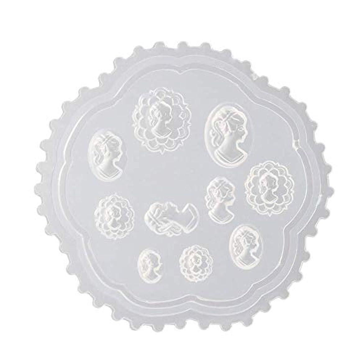 シチリア急性菊Flymylion 3Dシリコンモールド ネイル 葉 花 抜き型 3Dネイル用 レジンモールド UVレジン ネイルパーツ ジェル ネイル セット アクセサリー パーツ 作成 (2)