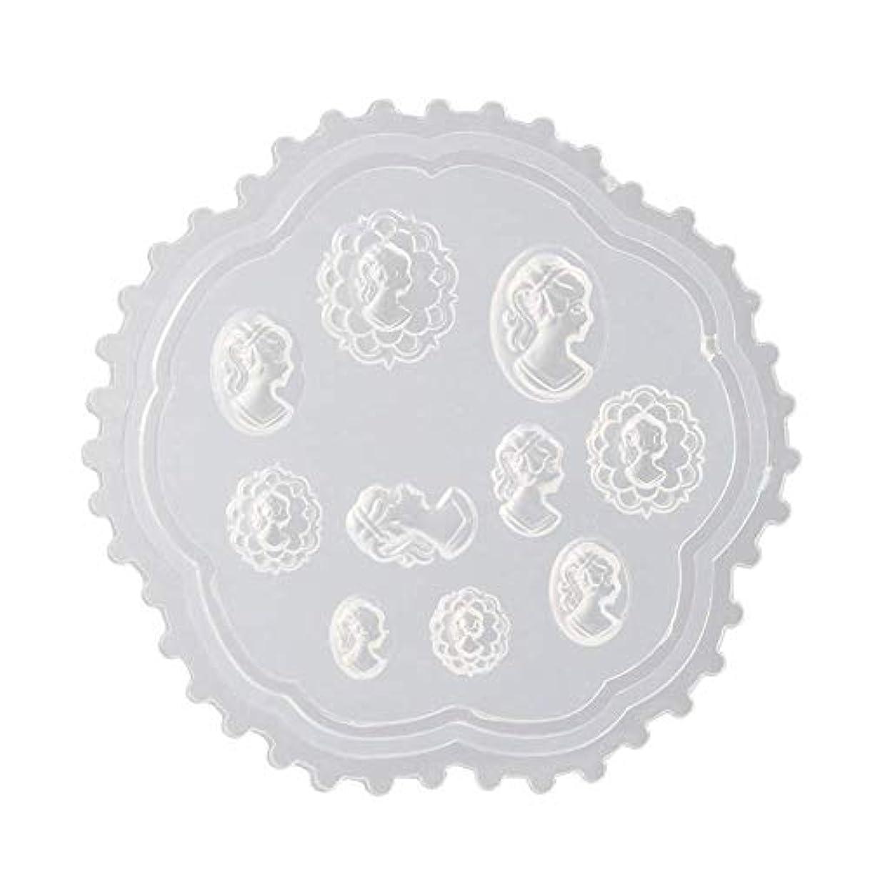 添加窓を洗う到着coraly 3Dシリコンモールド ネイル 葉 花 抜き型 3Dネイル用 レジンモールド UVレジン ネイルパーツ ジェル ネイル セット アクセサリー パーツ 作成 (2)