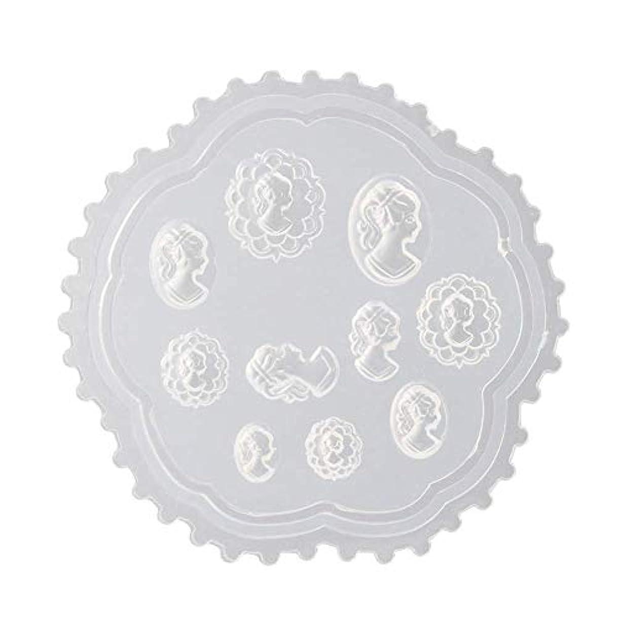 小競り合い設計図ポルノFlymylion 3Dシリコンモールド ネイル 葉 花 抜き型 3Dネイル用 レジンモールド UVレジン ネイルパーツ ジェル ネイル セット アクセサリー パーツ 作成 (2)