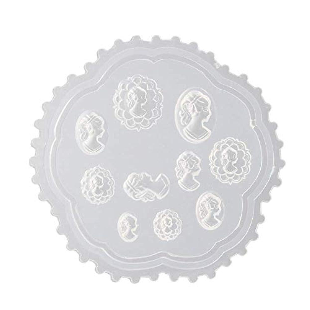 する必要がある追跡皮肉coraly 3Dシリコンモールド ネイル 葉 花 抜き型 3Dネイル用 レジンモールド UVレジン ネイルパーツ ジェル ネイル セット アクセサリー パーツ 作成 (2)