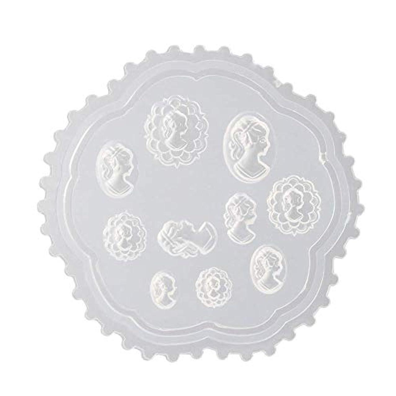 ケーブルカースリップシューズネットcoraly 3Dシリコンモールド ネイル 葉 花 抜き型 3Dネイル用 レジンモールド UVレジン ネイルパーツ ジェル ネイル セット アクセサリー パーツ 作成 (2)