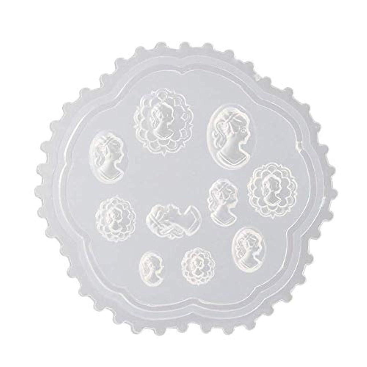 キリン女王圧縮coraly 3Dシリコンモールド ネイル 葉 花 抜き型 3Dネイル用 レジンモールド UVレジン ネイルパーツ ジェル ネイル セット アクセサリー パーツ 作成 (2)