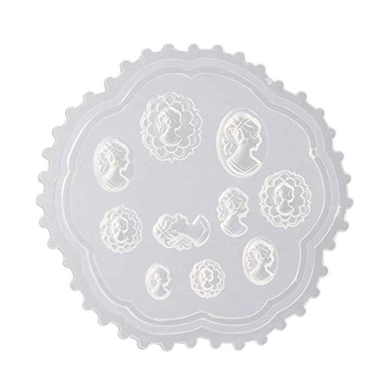 見せます許可透過性coraly 3Dシリコンモールド ネイル 葉 花 抜き型 3Dネイル用 レジンモールド UVレジン ネイルパーツ ジェル ネイル セット アクセサリー パーツ 作成 (2)