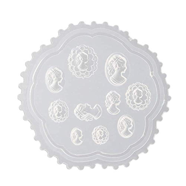 医療の寛容正規化gundoop 3Dシリコンモールド ネイル 葉 花 抜き型 3Dネイル用 レジンモールド UVレジン ネイルパーツ ジェル ネイル セット アクセサリー パーツ 作成 (2)