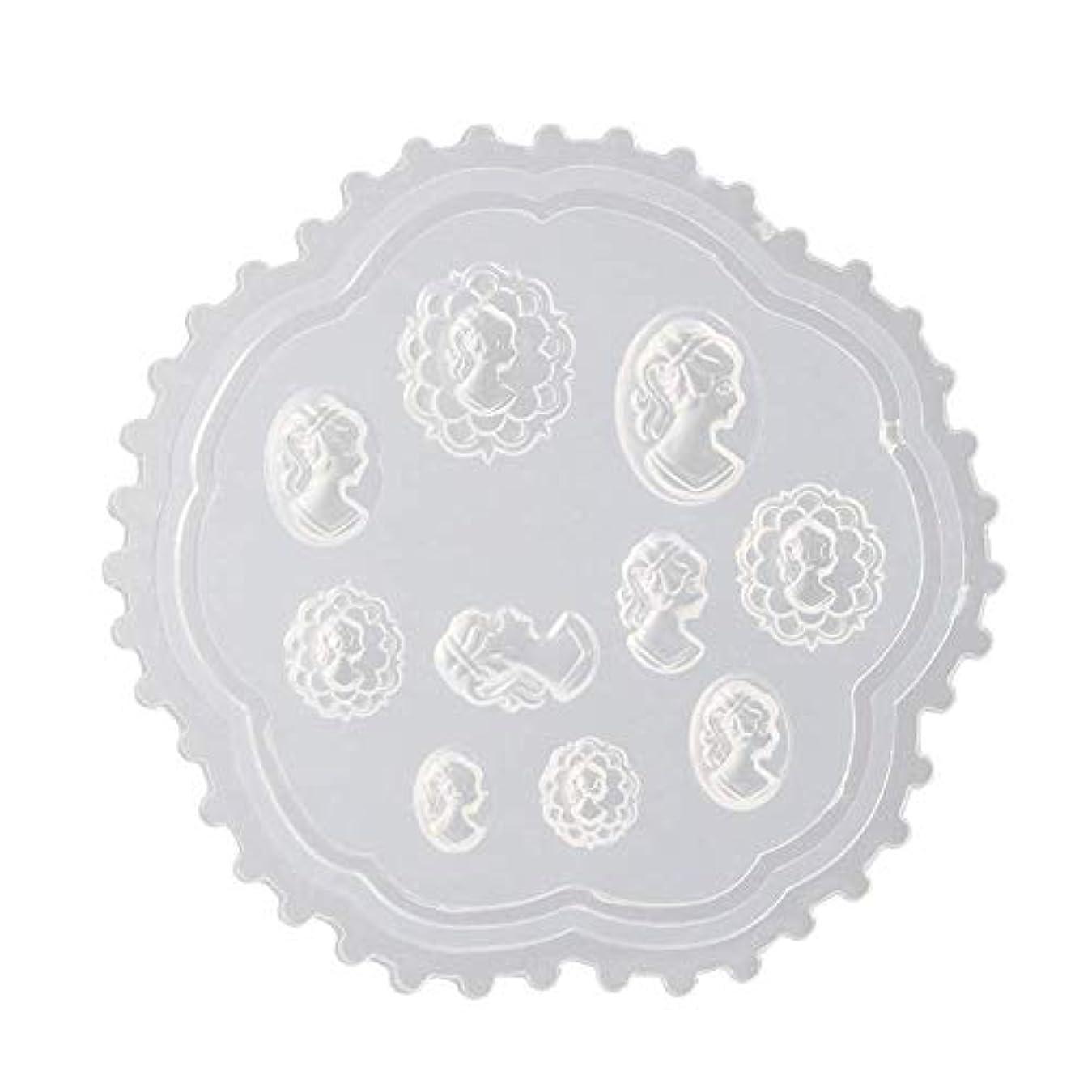 掘る発行の中でcoraly 3Dシリコンモールド ネイル 葉 花 抜き型 3Dネイル用 レジンモールド UVレジン ネイルパーツ ジェル ネイル セット アクセサリー パーツ 作成 (2)