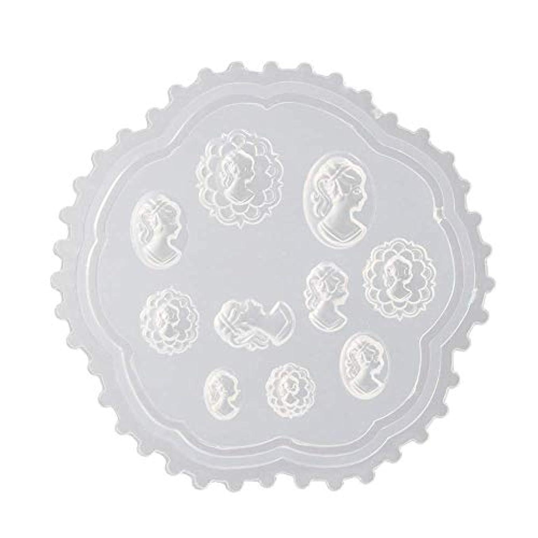 減少半径遠洋のcoraly 3Dシリコンモールド ネイル 葉 花 抜き型 3Dネイル用 レジンモールド UVレジン ネイルパーツ ジェル ネイル セット アクセサリー パーツ 作成 (2)