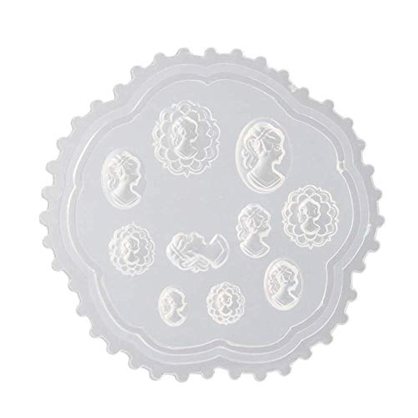 敬抽象漁師gundoop 3Dシリコンモールド ネイル 葉 花 抜き型 3Dネイル用 レジンモールド UVレジン ネイルパーツ ジェル ネイル セット アクセサリー パーツ 作成 (2)