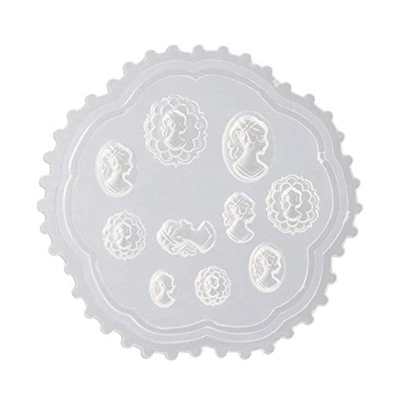 デンマーク再生可能ぼかすgundoop 3Dシリコンモールド ネイル 葉 花 抜き型 3Dネイル用 レジンモールド UVレジン ネイルパーツ ジェル ネイル セット アクセサリー パーツ 作成 (2)