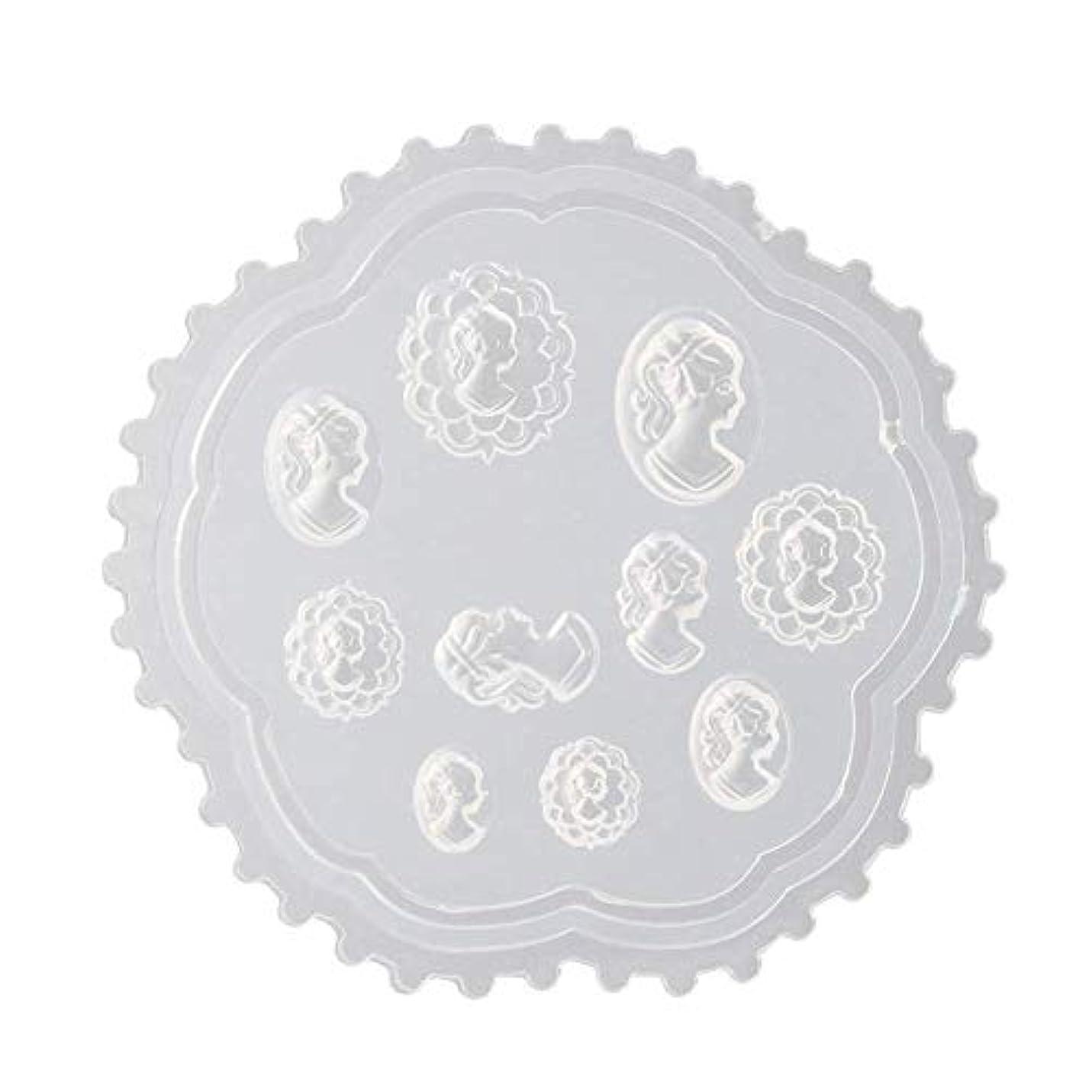 セットするマトン毎週coraly 3Dシリコンモールド ネイル 葉 花 抜き型 3Dネイル用 レジンモールド UVレジン ネイルパーツ ジェル ネイル セット アクセサリー パーツ 作成 (2)