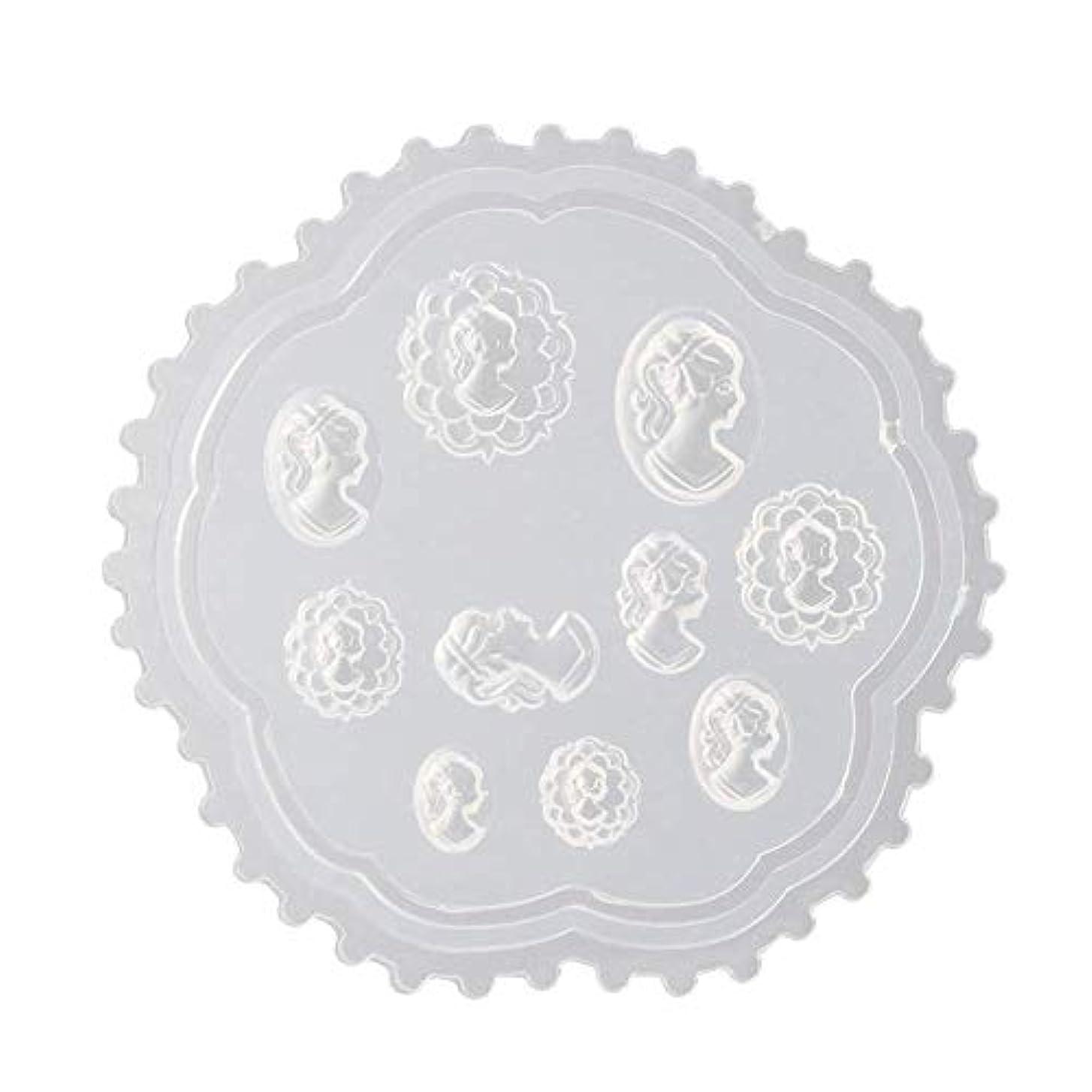 賢明な蒸気契約したgundoop 3Dシリコンモールド ネイル 葉 花 抜き型 3Dネイル用 レジンモールド UVレジン ネイルパーツ ジェル ネイル セット アクセサリー パーツ 作成 (2)