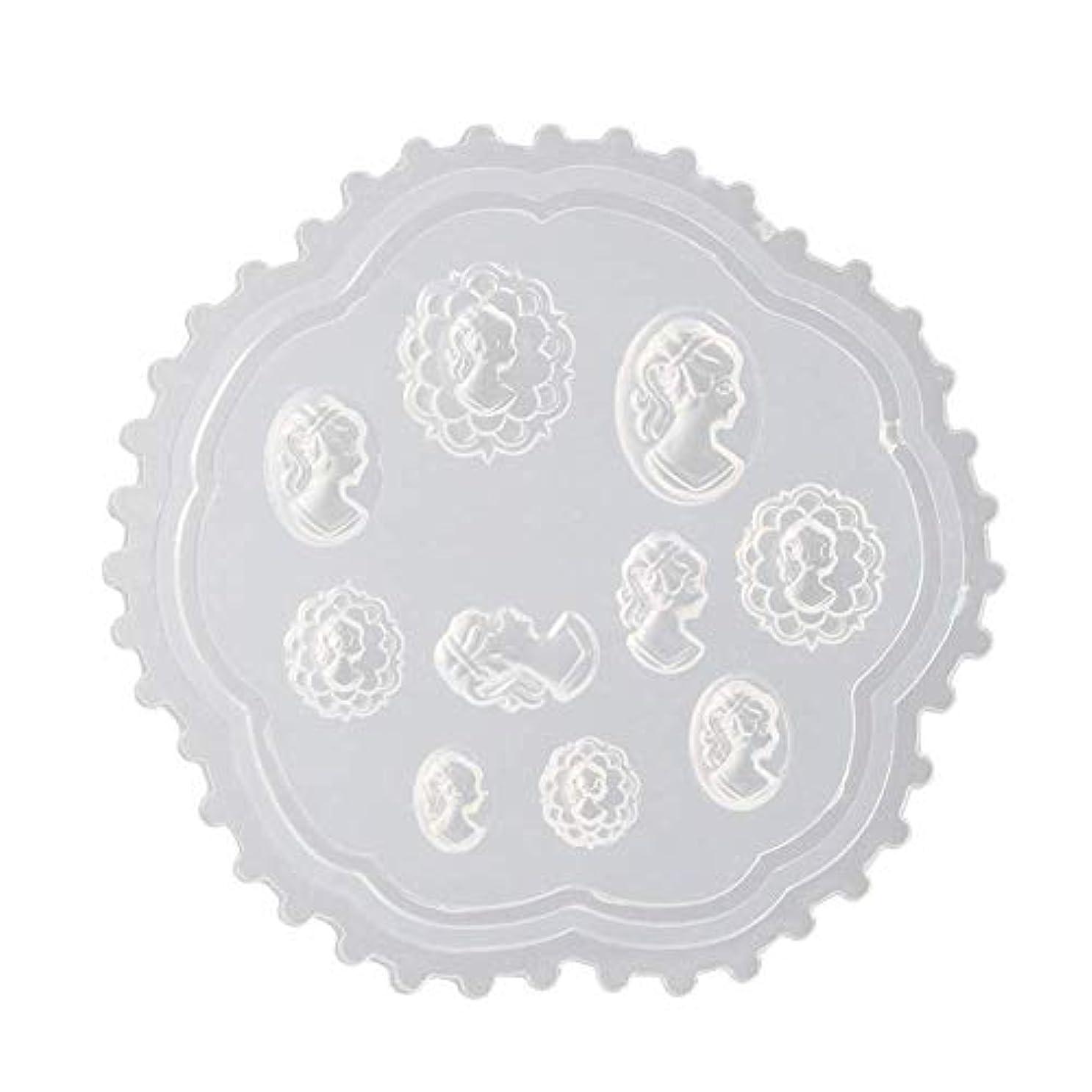 中に十分必要とするgundoop 3Dシリコンモールド ネイル 葉 花 抜き型 3Dネイル用 レジンモールド UVレジン ネイルパーツ ジェル ネイル セット アクセサリー パーツ 作成 (2)
