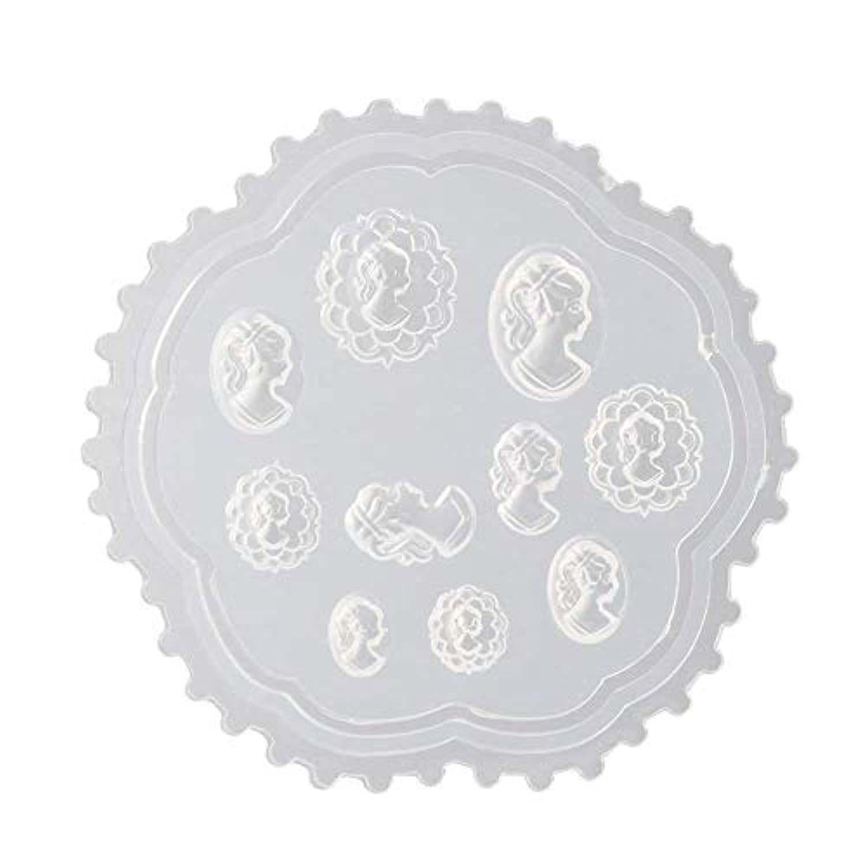 coraly 3Dシリコンモールド ネイル 葉 花 抜き型 3Dネイル用 レジンモールド UVレジン ネイルパーツ ジェル ネイル セット アクセサリー パーツ 作成 (2)