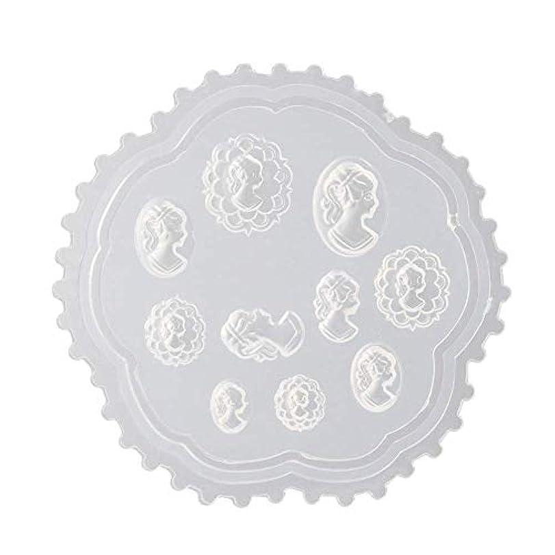 複雑な注目すべき健康gundoop 3Dシリコンモールド ネイル 葉 花 抜き型 3Dネイル用 レジンモールド UVレジン ネイルパーツ ジェル ネイル セット アクセサリー パーツ 作成 (2)