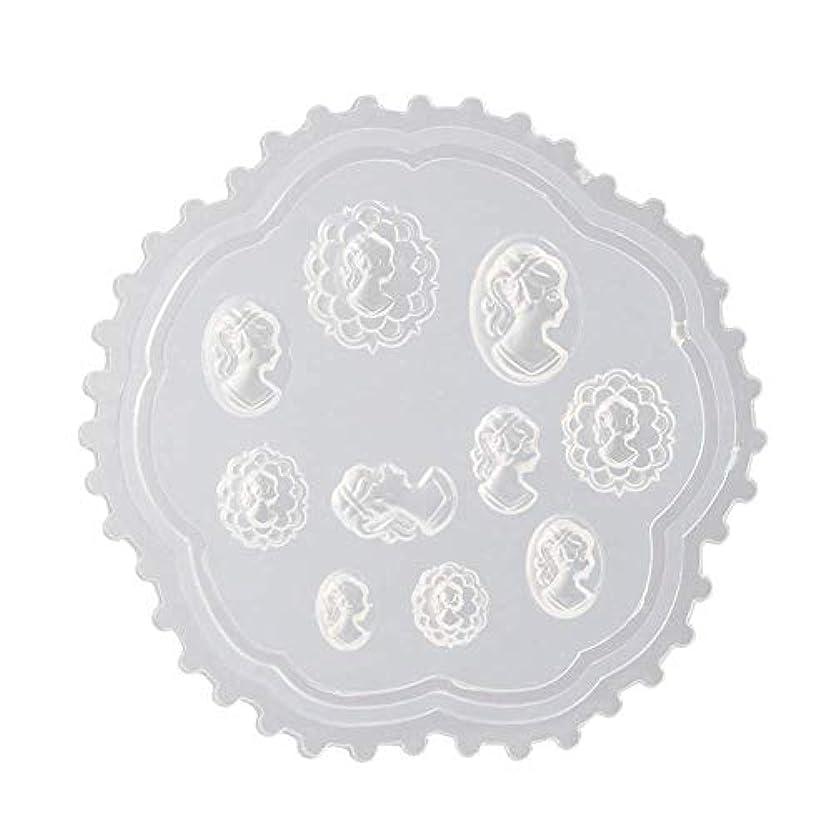 打たれたトラック弾力性のあるスキニーcoraly 3Dシリコンモールド ネイル 葉 花 抜き型 3Dネイル用 レジンモールド UVレジン ネイルパーツ ジェル ネイル セット アクセサリー パーツ 作成 (2)