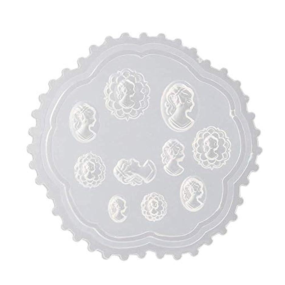 愛する扇動するオーナーgundoop 3Dシリコンモールド ネイル 葉 花 抜き型 3Dネイル用 レジンモールド UVレジン ネイルパーツ ジェル ネイル セット アクセサリー パーツ 作成 (2)