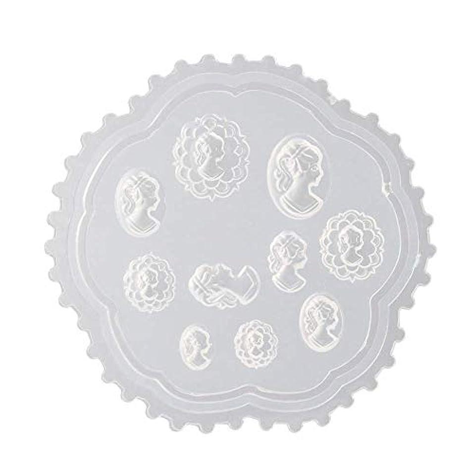 不公平心からカウントgundoop 3Dシリコンモールド ネイル 葉 花 抜き型 3Dネイル用 レジンモールド UVレジン ネイルパーツ ジェル ネイル セット アクセサリー パーツ 作成 (2)