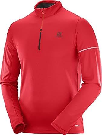 [サロモン] Agile HZ MID M L40112800 メンズ Barbados Cherry/Fiery RED EU L (日本サイズXL相当)