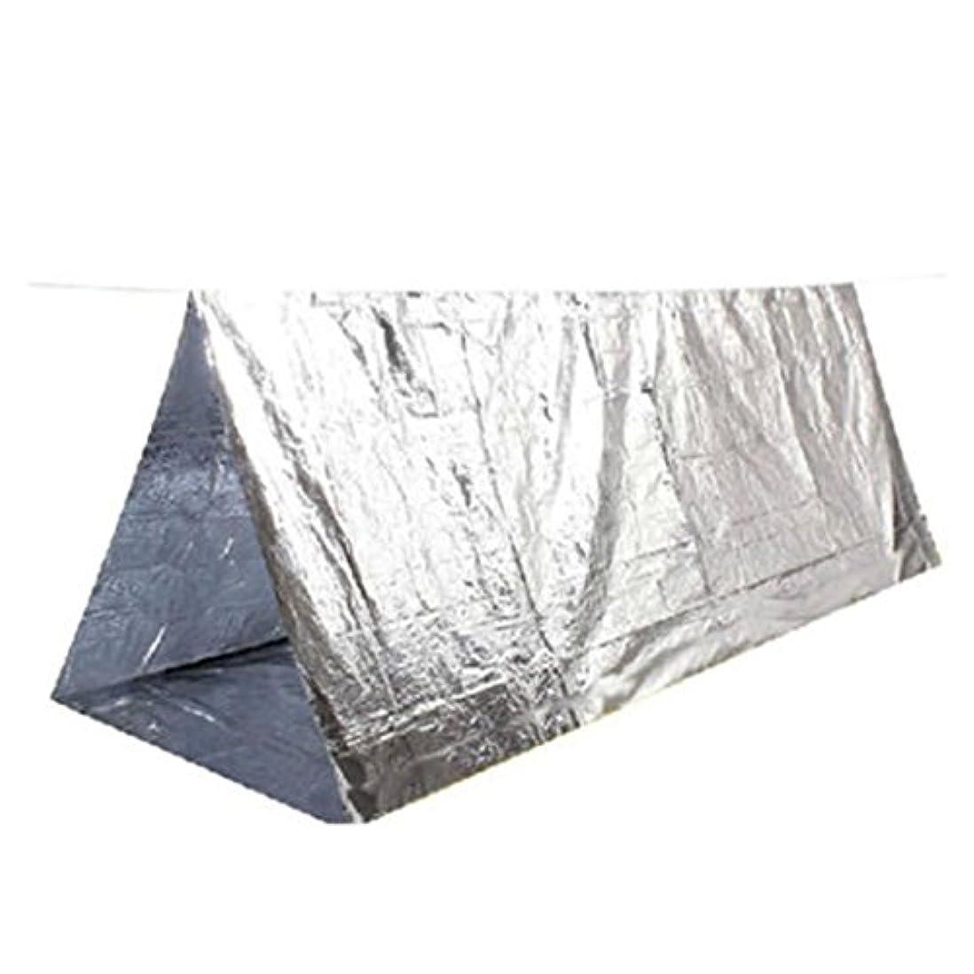 偏見繰り返す検索エンジンマーケティングアウトドアテント Inkach ポータブル 緊急 サバイバル ハイキング キャンプ シェルター テント