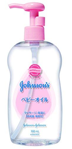 ジョンソン ベビーオイル 微香性 300ml