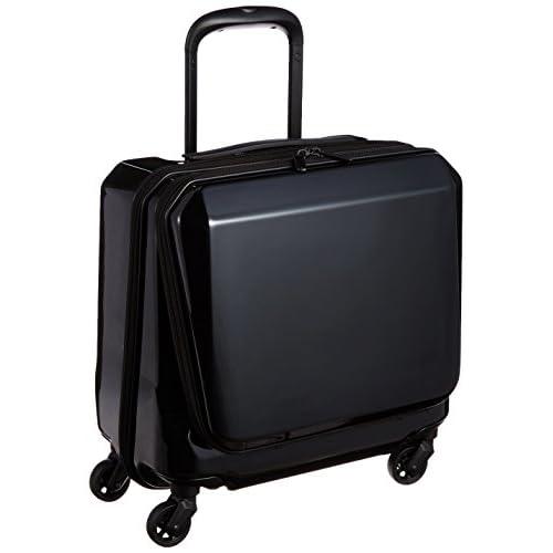 [エースジーン] ace.GENE スーツケース スクエアワン 25L 2.8kg TSAダイヤルファスナーロック 05641 01 (ブラック)