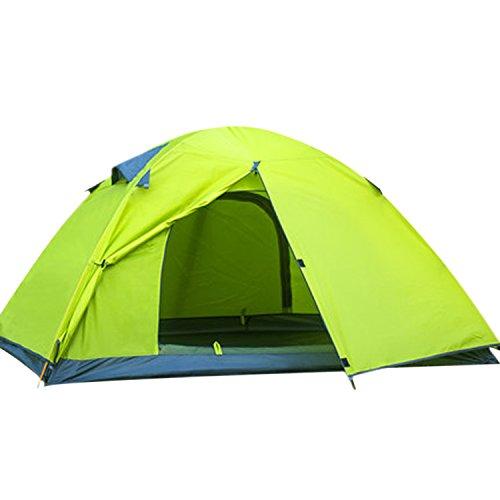 HUI LINGYANG アウトドア テント 2人用 ツーリングテント 二層...