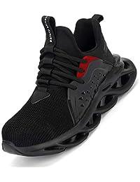 [マンディー] 安全靴 作業靴 メーズ レディース スニーカー ハイカット 鋼先芯入れ セーフティーシューズ 通気性 耐油 耐滑 軽量 登山靴 刺す叩く防止 おしゃれ ハイキングシューズ
