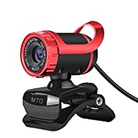 MTQ 360度回転可能 ウェブカメラ 12.0MP 640P 高解像度 ウェブ内蔵 サウンド吸収マイク