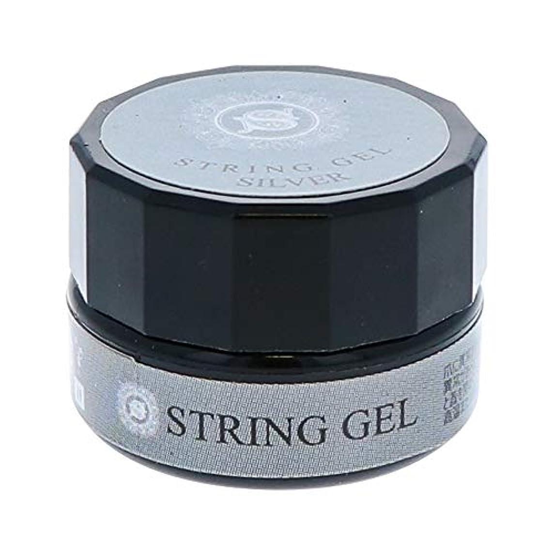 翻訳する普遍的な失態ビューティーネイラー simply string gel (silver) 2.5g QSG-2 ジェルネイル