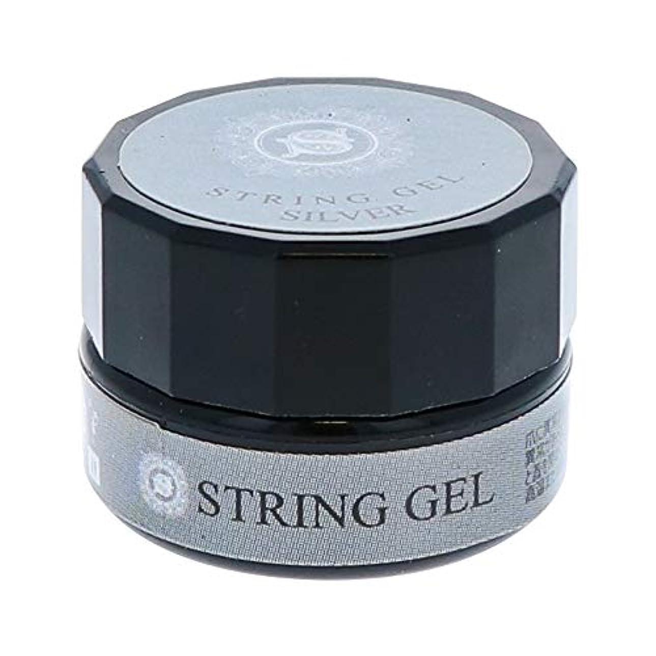 ふざけたプロテスタント証人ビューティーネイラー simply string gel (silver) 2.5g QSG-2