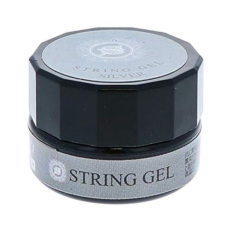 マチュピチュ葉を拾う感嘆ビューティーネイラー simply string gel (silver) 2.5g QSG-2 ジェルネイル