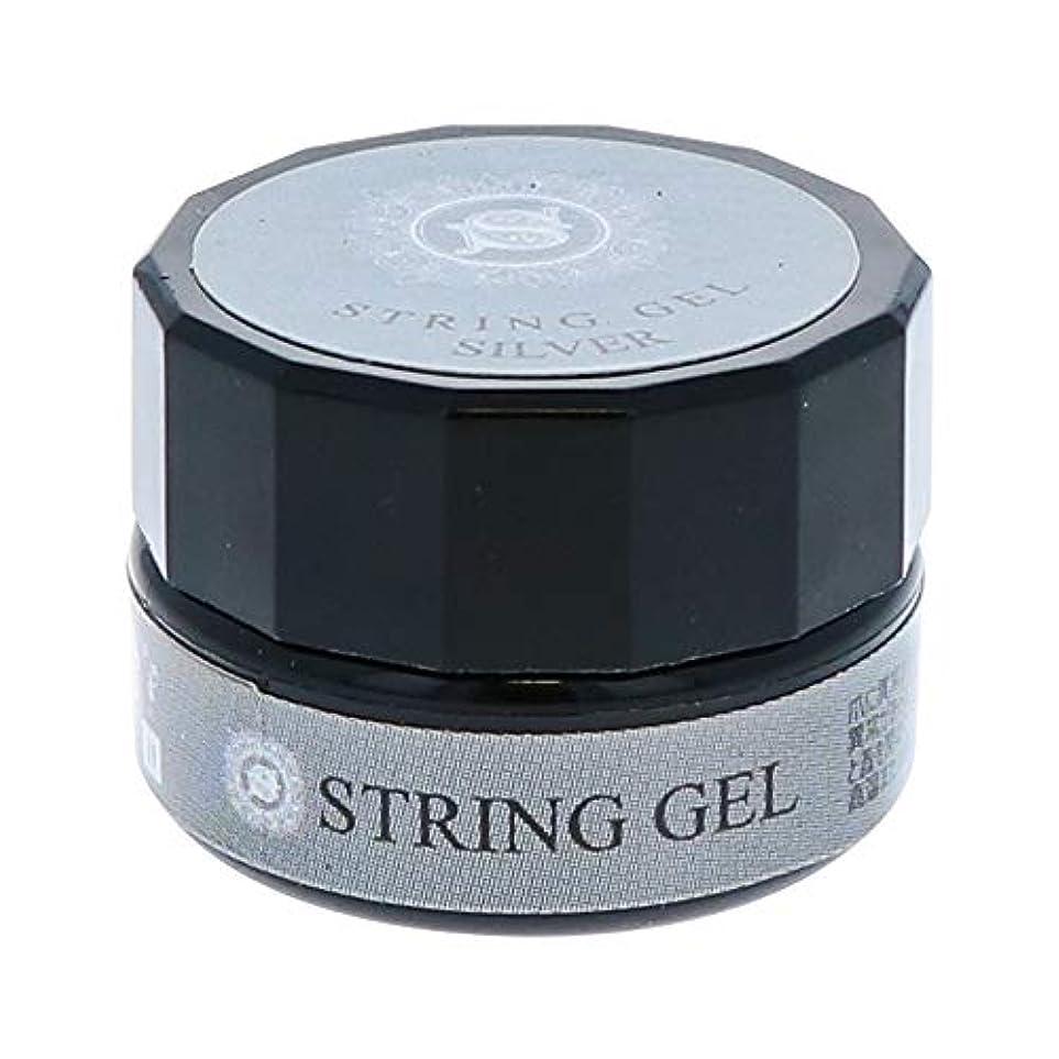 空白驚きビューティーネイラー simply string gel (silver) 2.5g QSG-2 ジェルネイル