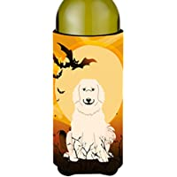 Carolines Treasures BB4349LITERK Halloween Great Pyrenese Wine Bottle Beverge Insulator Hugger