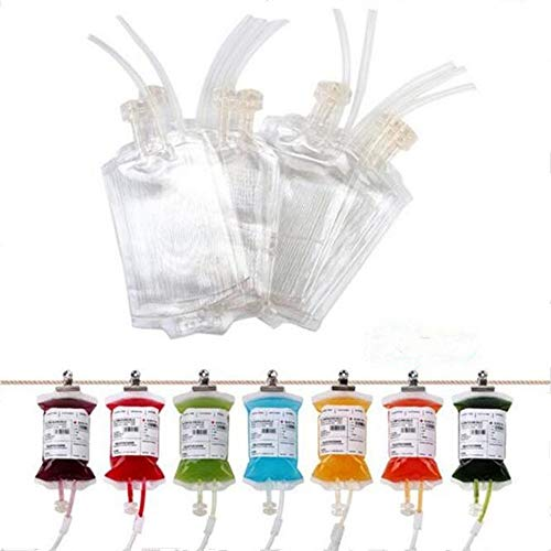 Blood Energy DrinkバッグDrinkコンテナIVバッグ350ml、パーティーFavour Drinkingカップ 22 x 3.2 x 39.8 cm 透明