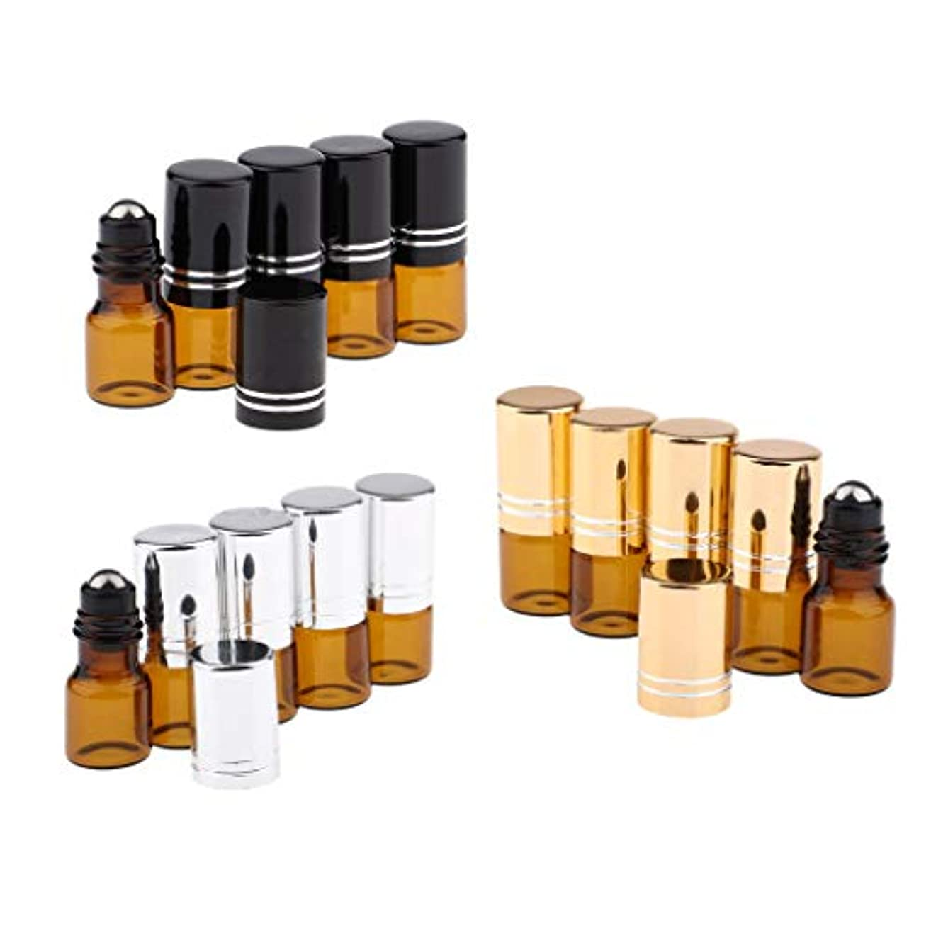 ロールオンボトル ガラス 遮光 2ML 香水瓶 詰め替え アトマイザー 容器