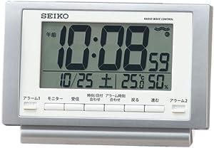 SEIKO 電波目覚まし時計 SQ787S