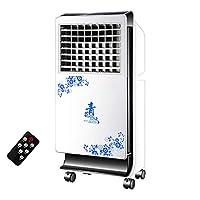 白のファンの加湿器の屋内タワーファンが付いている携帯用蒸発の空気クーラー