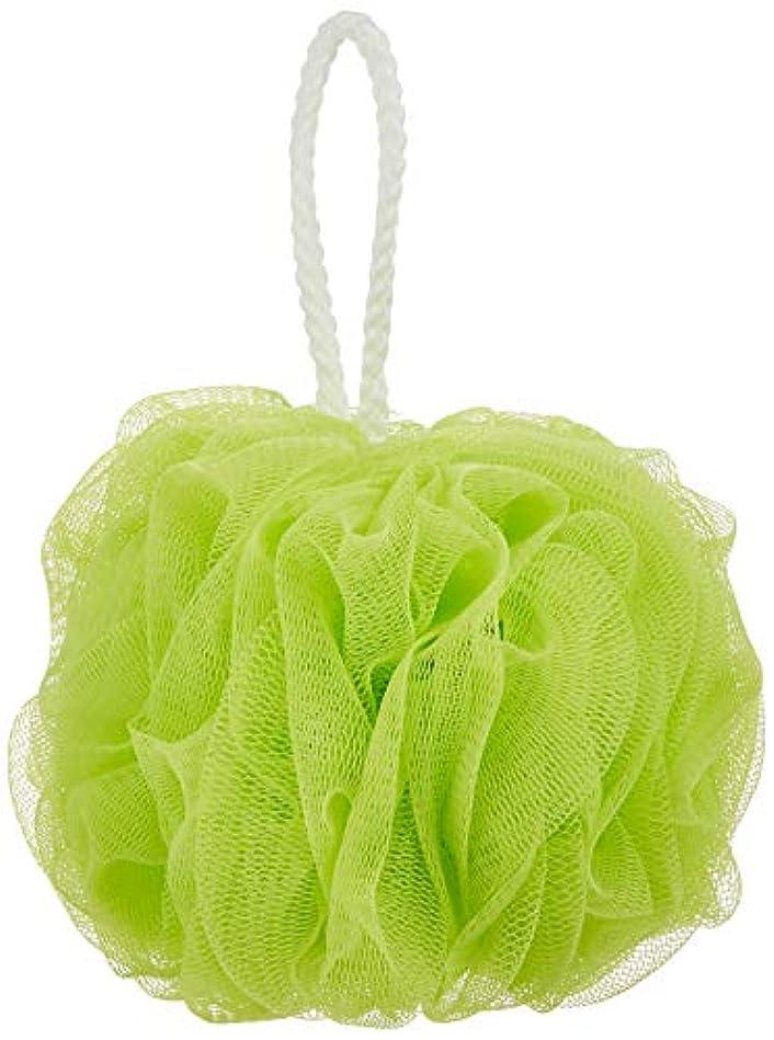 ミルライラックアトムオーエ ボディスポンジ ふつう グリーン 約縦22×横14×高さ14cm ホイッぷる ボール 泡立て ネット もこもこ 洗える