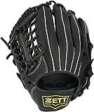 ZETT(ゼット) 少年野球 軟式 グラブ(グローブ) ソフトステア オールラウンド用 左投げ用 ブラック(1900) サイズ:L(身長140cm~向け) BJGB74040