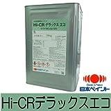 ニッペ Hi-CRデラックスエコ 白(ND-101) つや有り [16kg] 日本ペイント・内外部鉄部・木部・ペンキ・合成樹脂調合ペイント