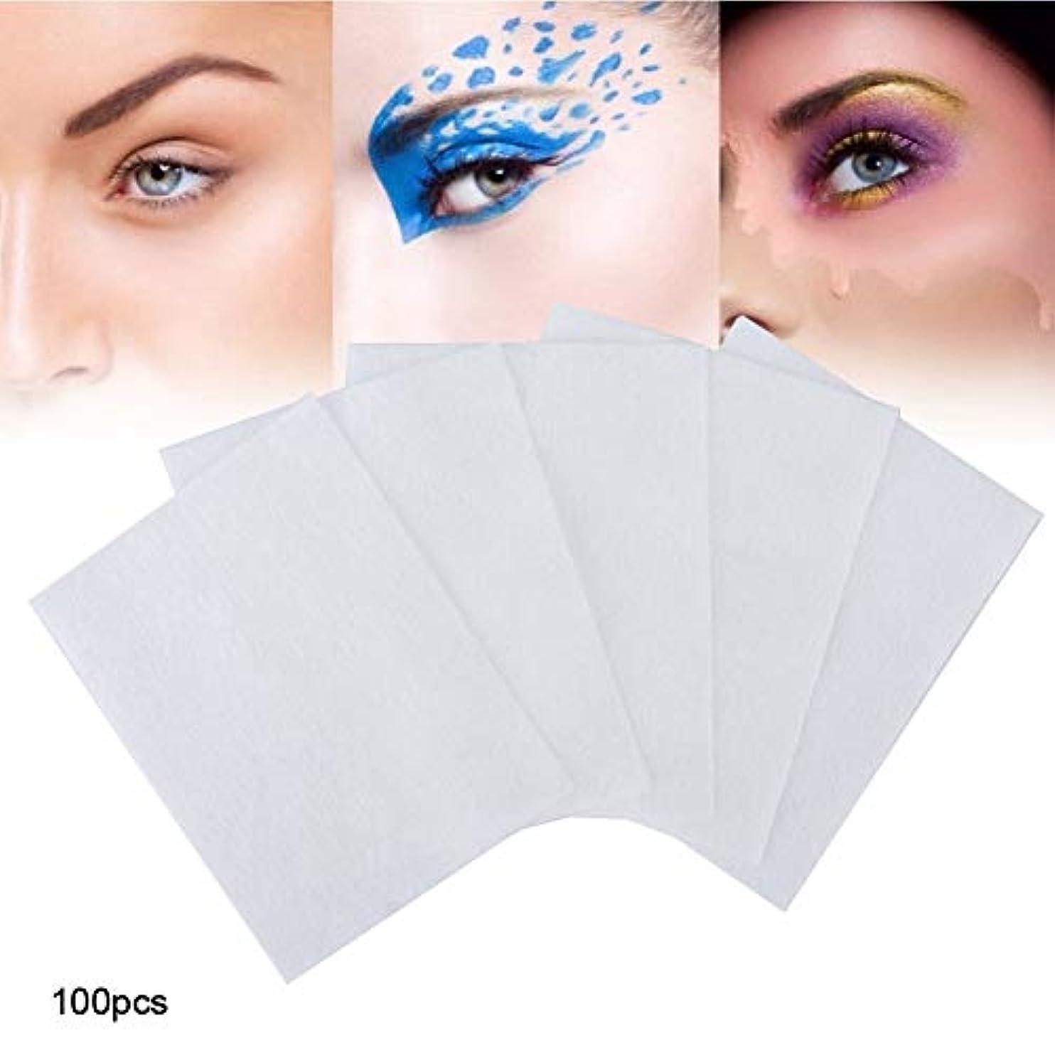 ピカリングキネマティクスガイダンス100個 化粧コットンパッド 化粧を削除する 使い捨て洗顔料