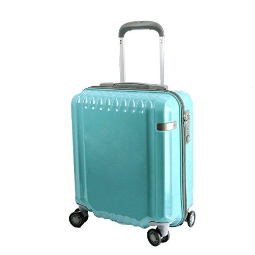 (エースドット) ace. スーツケース キャリー ハード 22L 小型 日帰り~1泊程度 4.ミント