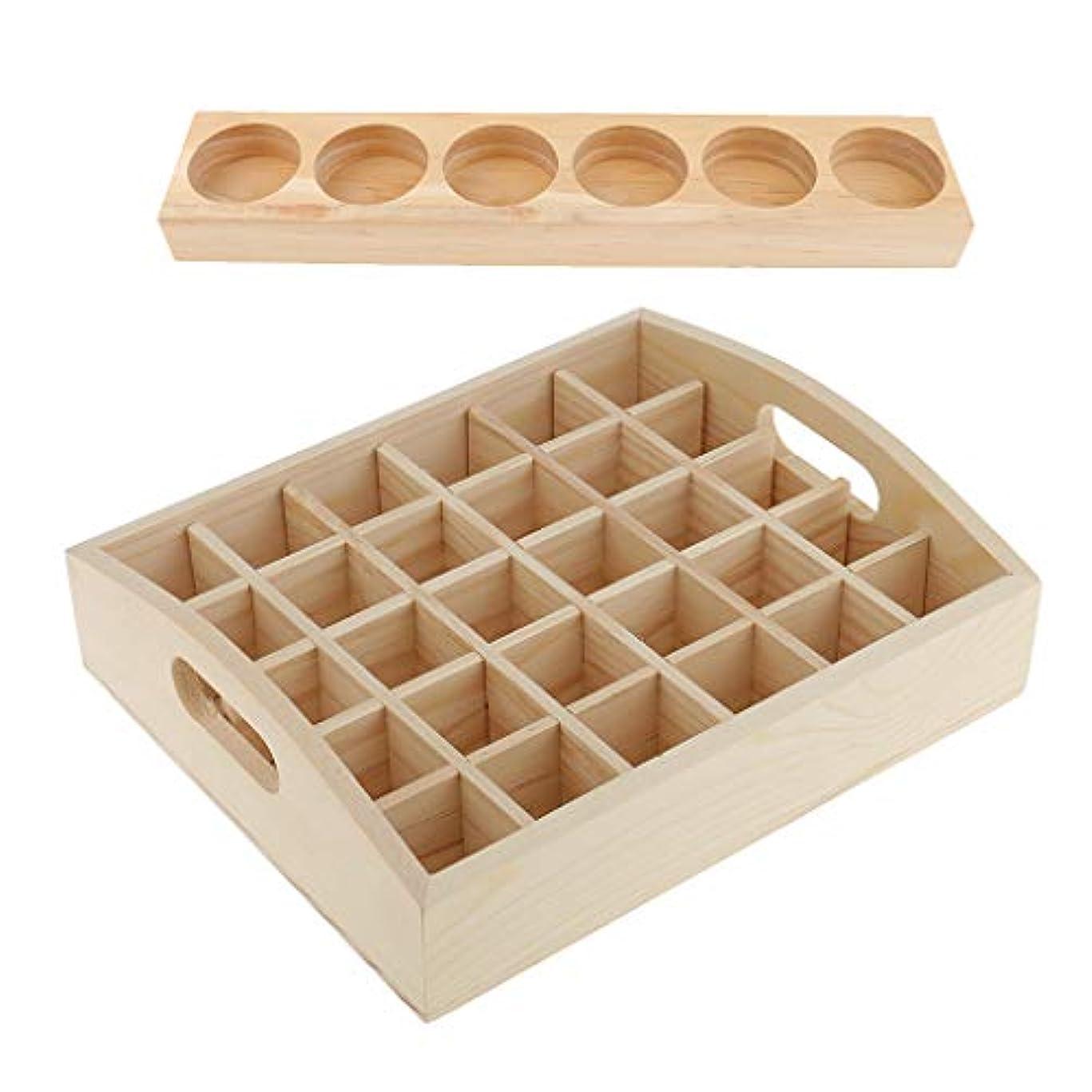 さらに試してみる適合するエッセンシャルオイル 精油/香水 収納ボックス 木製 携帯便利 15ミリリットル 直立状態