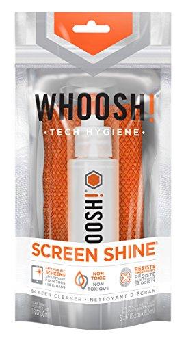 WHOOSH 液晶クリーナー スマホ 液晶モニタ用 抗菌クロスセット(M) ...