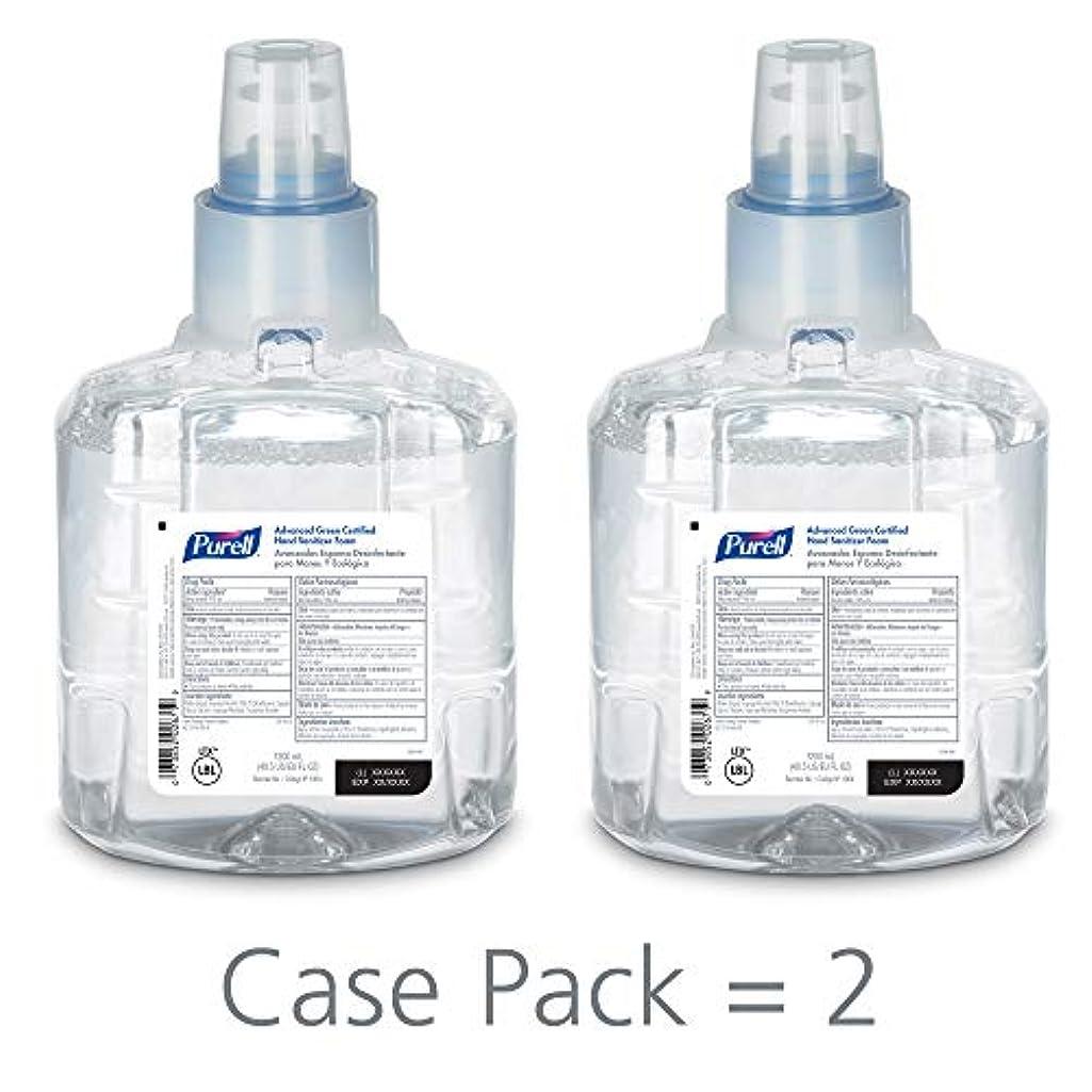 アトムサミット日曜日PURELL 1904-02 1200 mL Advanced Green Certified Instant Hand Sanitizer Foam, LTX-12 Refill (Pack of 2) by Purell