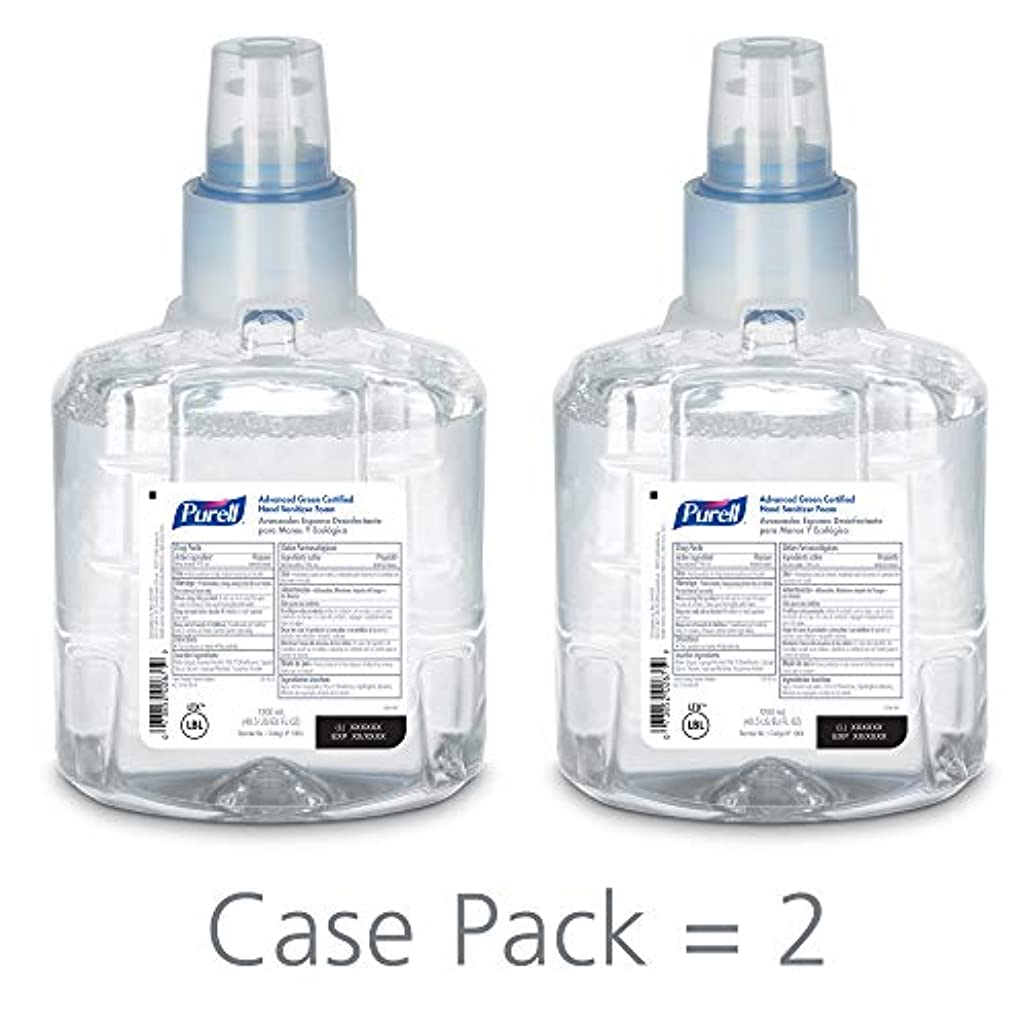 カード召集するお互いPURELL 1904-02 1200 mL Advanced Green Certified Instant Hand Sanitizer Foam, LTX-12 Refill (Pack of 2) by Purell