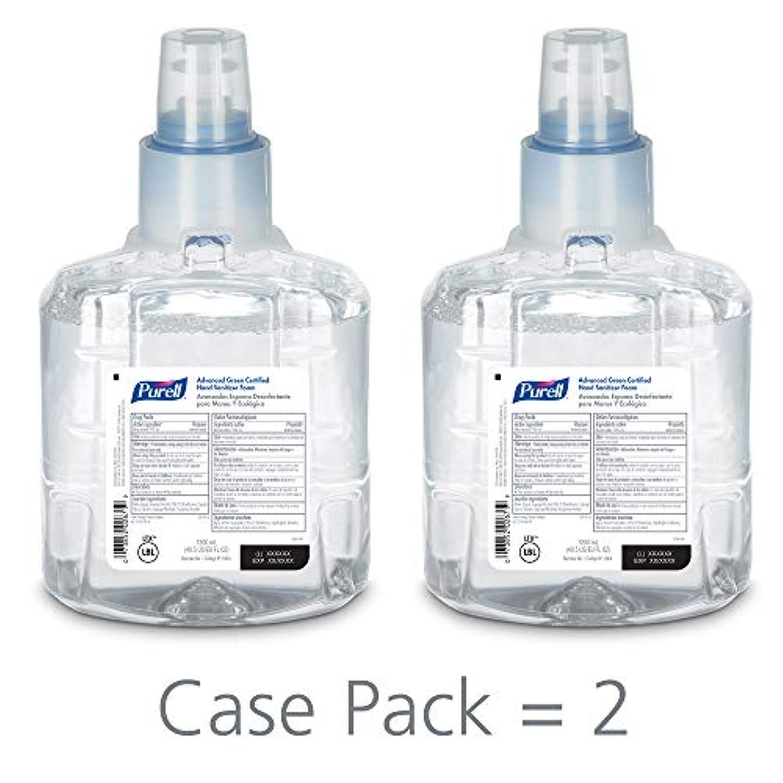 脊椎メーター橋PURELL 1904-02 1200 mL Advanced Green Certified Instant Hand Sanitizer Foam, LTX-12 Refill (Pack of 2) by Purell